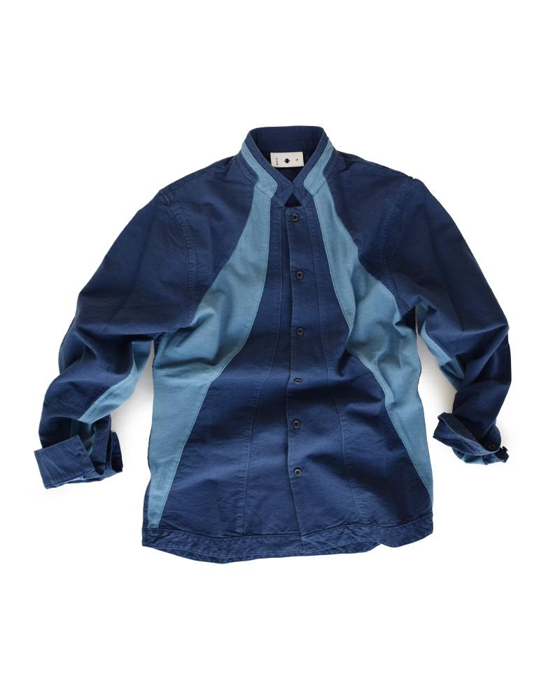 Yoshiyuki / Jimbaori shirt #5 navy Image