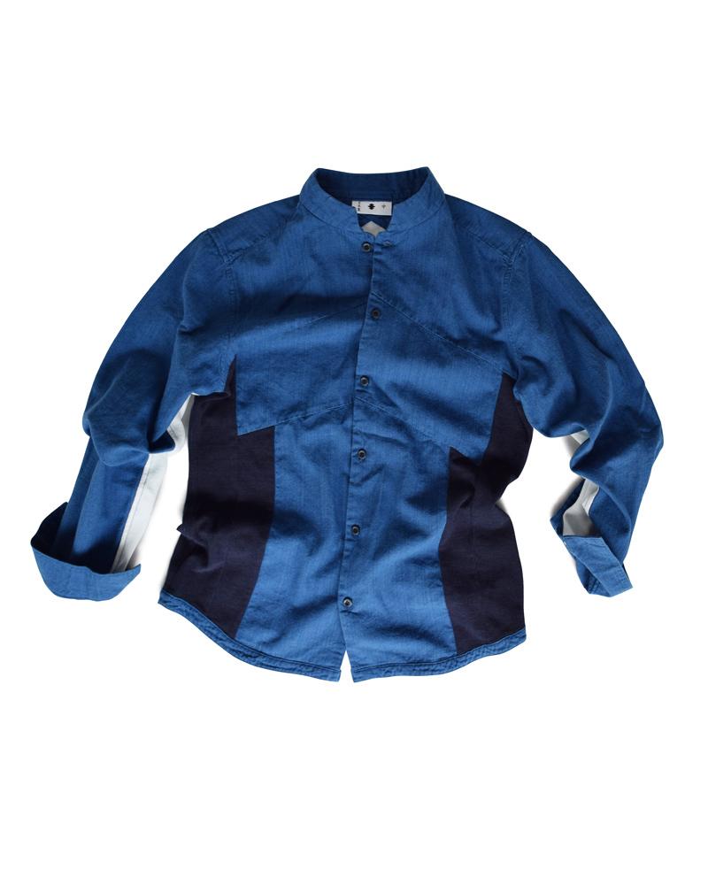 Yoshiyuki / Jimbaori shirt #7 navy Image