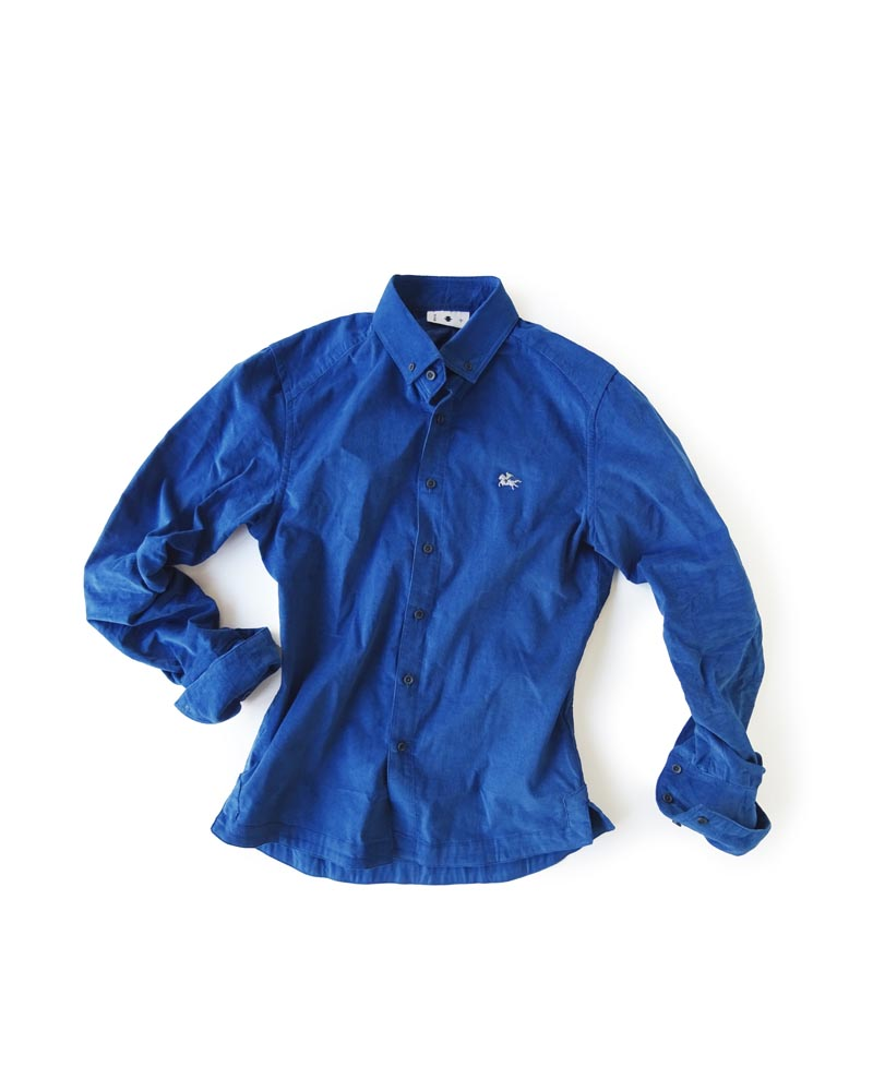 """Yoshiyuki / Jinbaori Shirt #18 """"Cotton Ridge"""" Image"""