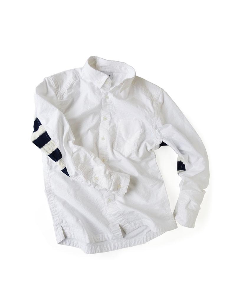 """Yoshiyuki / Jinbaori Shirt #23 """"Indigo Stripes""""  Image"""
