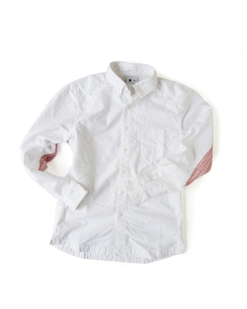 """Yoshiyuki / Jinbaori Shirt #23 """"Drunk Stripes"""" Image"""