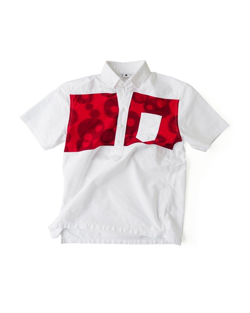 """Yoshiyuki / Jinbaori Shirt #24 """"Splash"""" Image"""