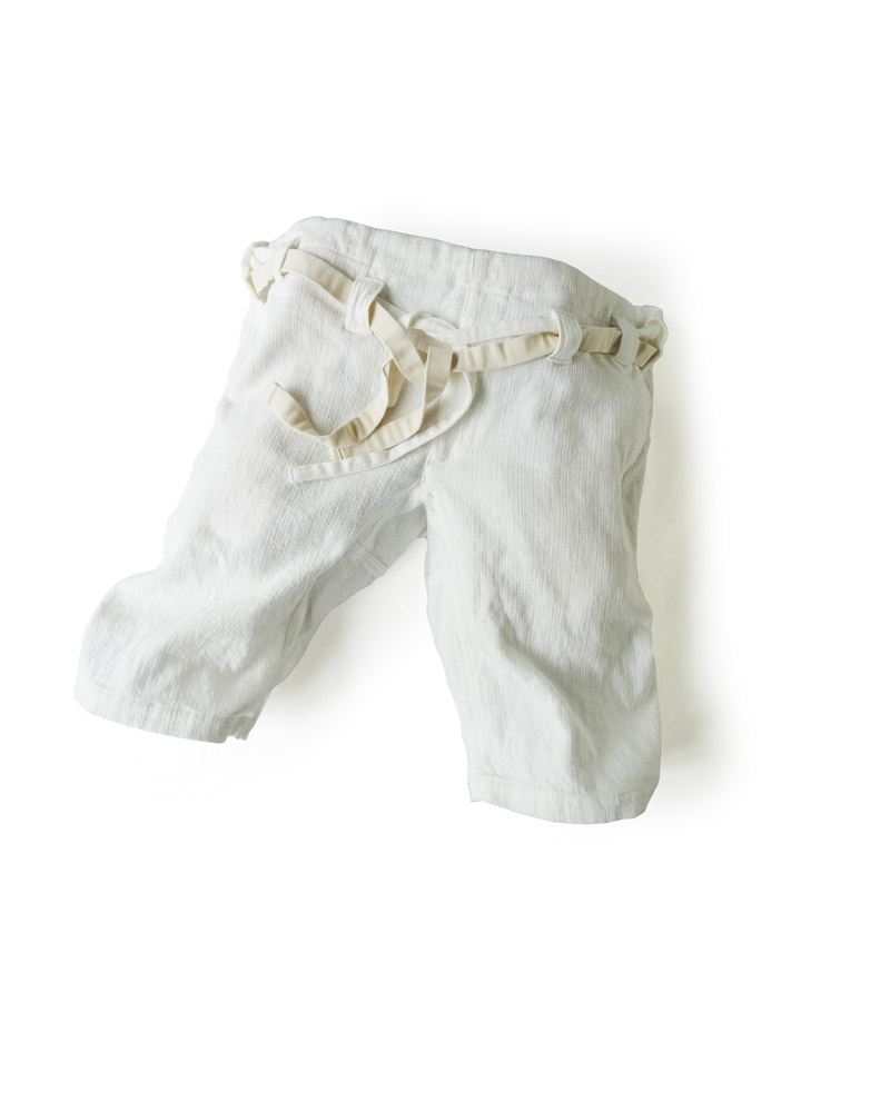 Yoshiyuki / Karate pants #14  White Image