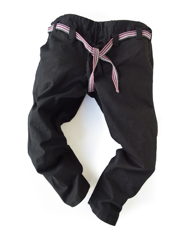 Yoshiyuki / Karate pants #15 black Image