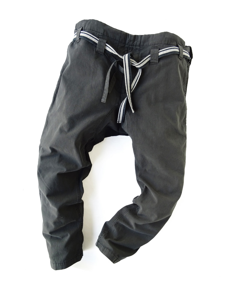 Yoshiyuki / Karate pants #16, charcoal black Image