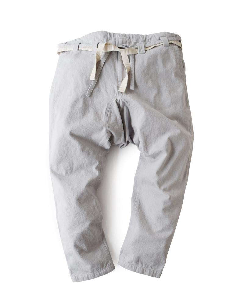Yoshiyuki / Karate pants #16 silver gray Image