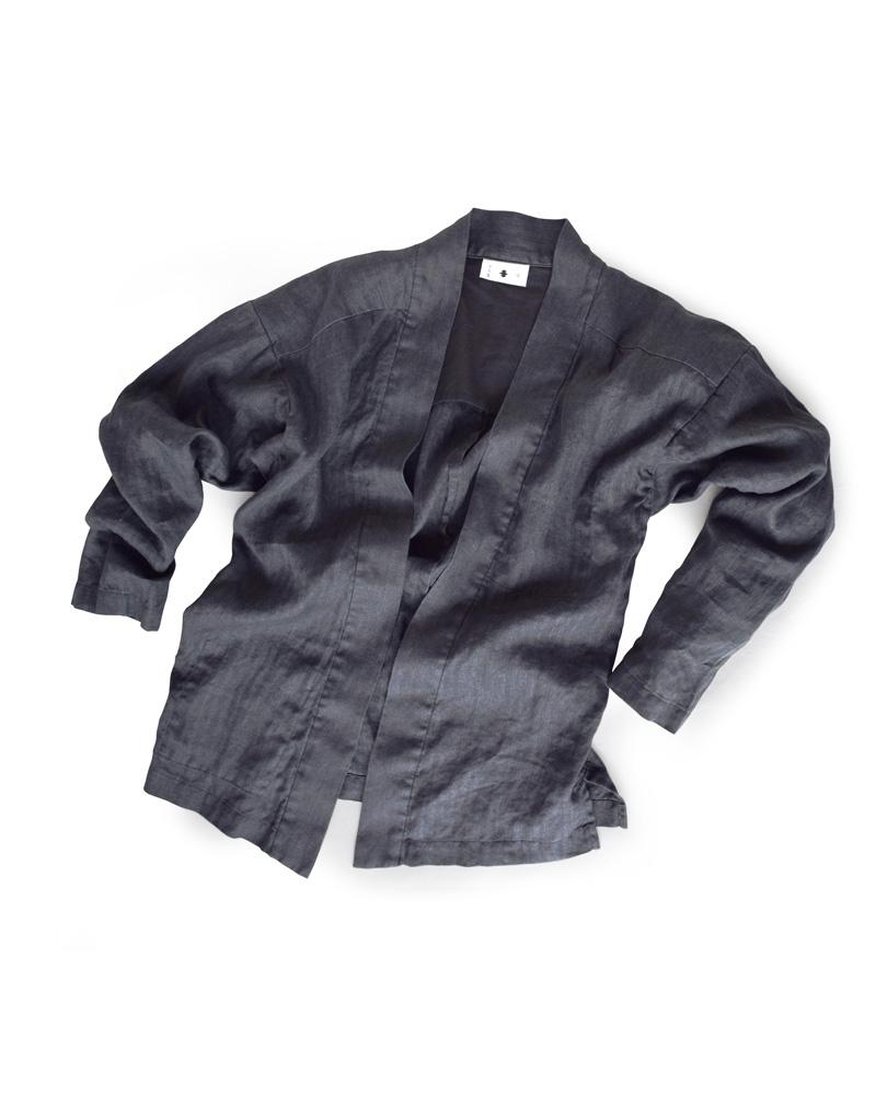 "Yoshiyuki / YAMATO #4 ""Heringbone"" charcoal black Image"