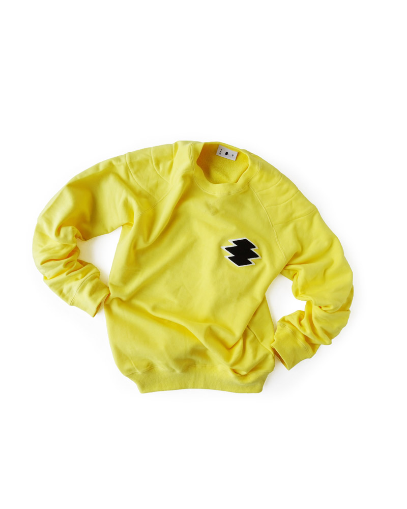 "Yoshiyuki / Sweat pullover ""Matsukawa Lozenges"", yellow Image"