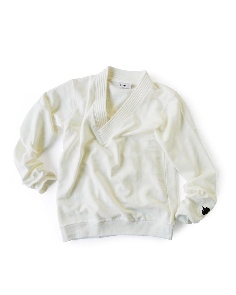 Yoshiyuki / Gi-coller pullover, white Image
