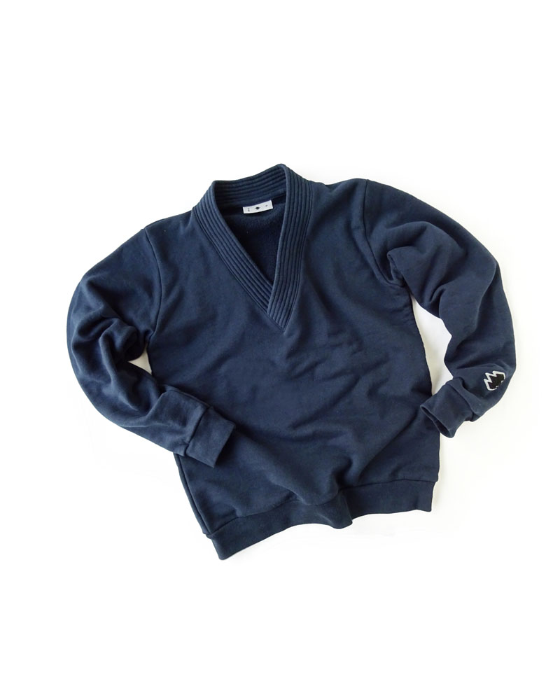 Yoshiyuki / Gi-coller pullover, navy Image
