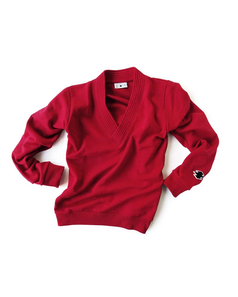 Yoshiyuki / Gi-coller pullover, red Image