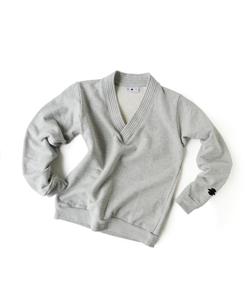 Yoshiyuki / Gi-coller pullover, frost gray Image