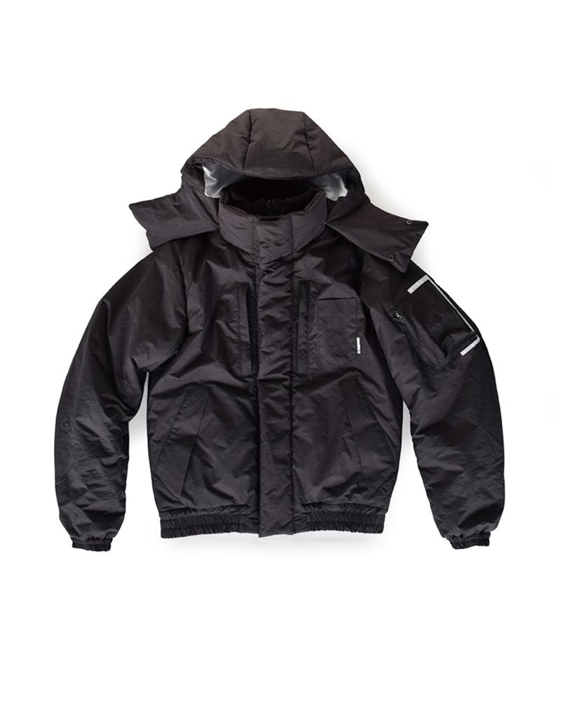 Yoshiyuki / Hooded padding jacket #1 Image