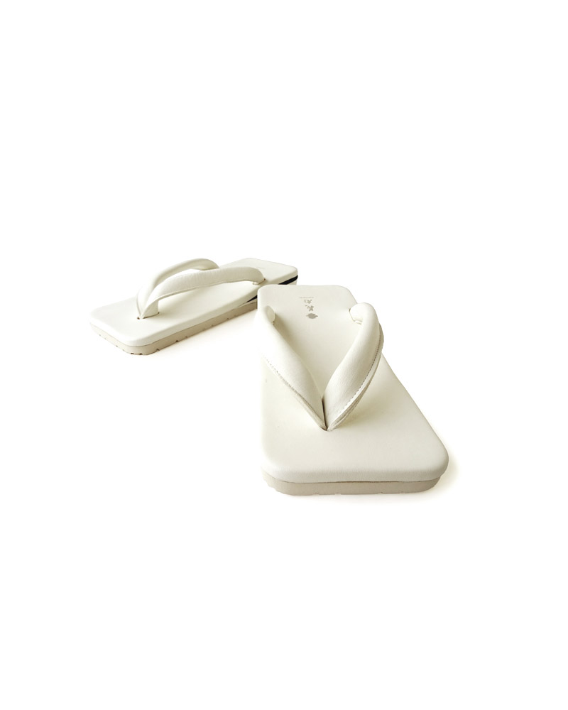 Yoshiyuki / Square Sandals,white Image