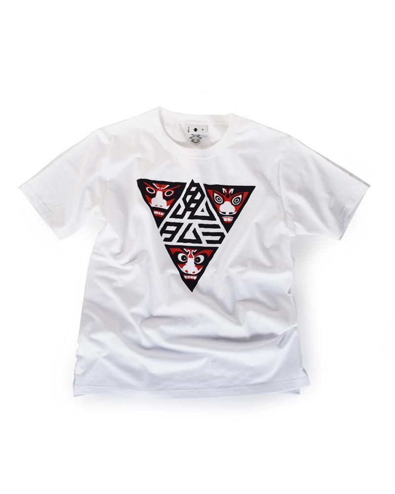"""Yoshiyuki / T-Shirt #84 """"ONI TAMURA #2 Image"""