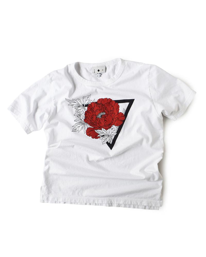 "Yoshiyuki / T-shirt #84 ""PEONY"" Image"