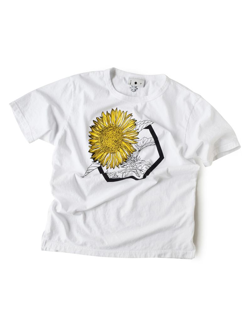 """Yoshiyuki / T-shirt #84 """"SUNFLOWER"""" Image"""
