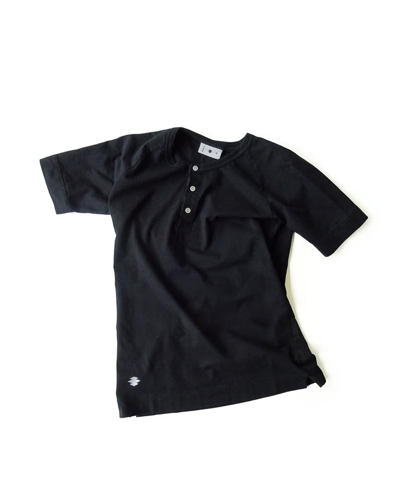 Yoshiyuki / T-shirt  #87, black Image
