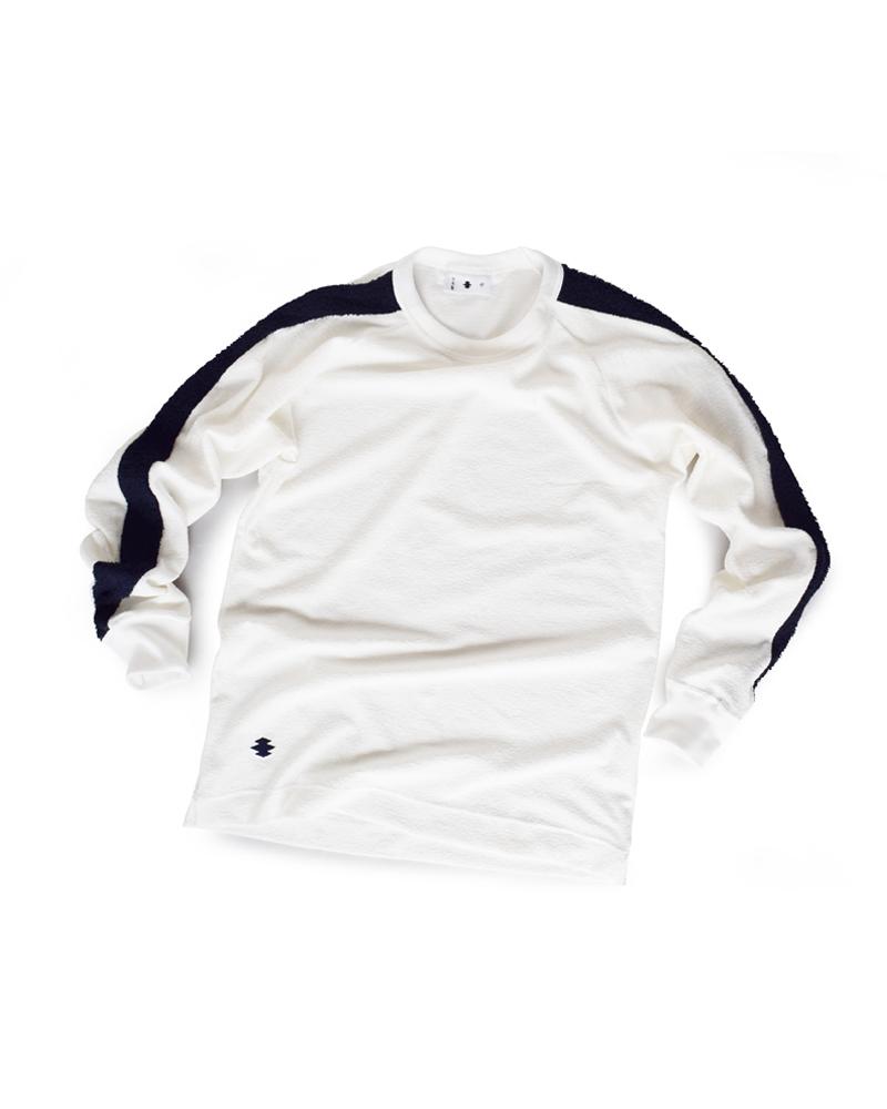 "Yoshiyuki / T-shirt #99 ""TATEWAKUMON""  White Image"