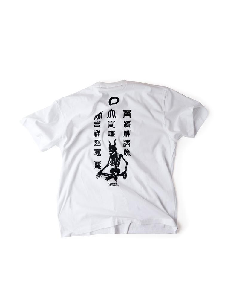 """OSA / T-shirt No.00 """"Yamaiyoke"""" white Image"""