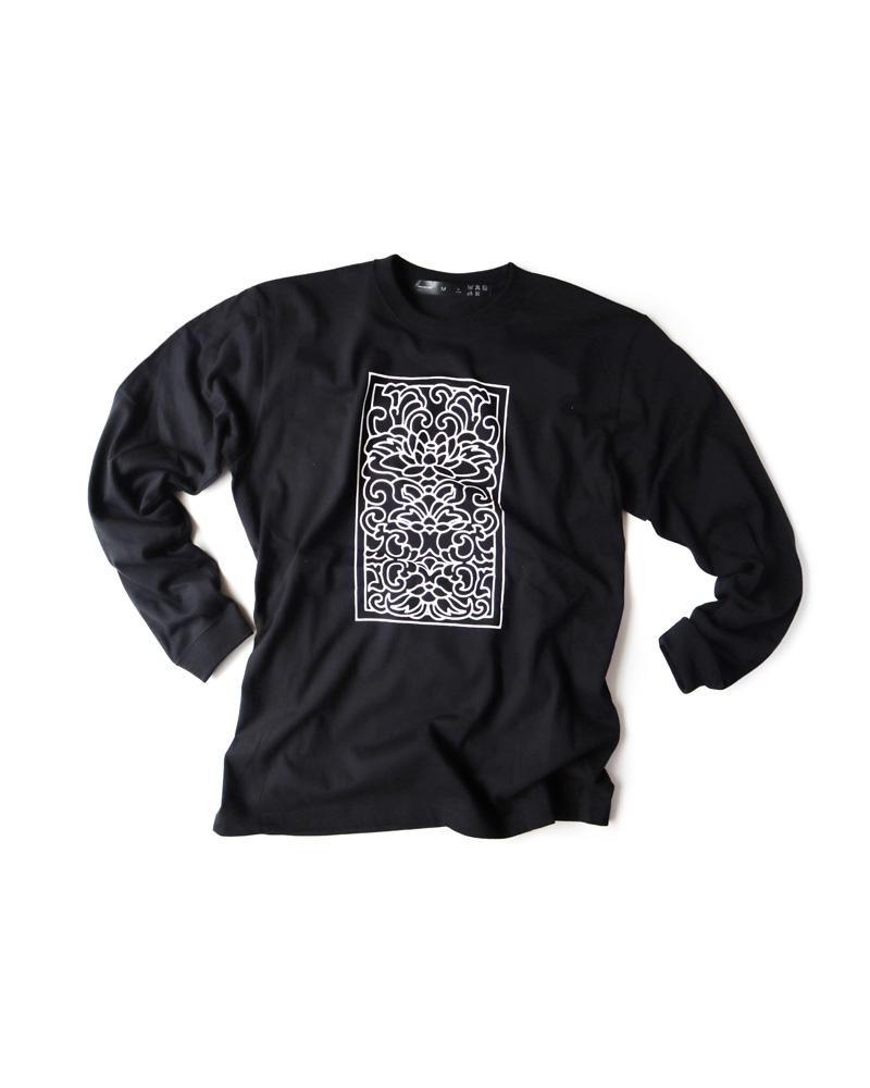 """OSA / T-shirt No.00 """"Yamaiyoke"""" black Image"""