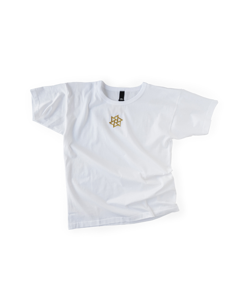 "OSA / T-shirt No.01 ""Rinne embroidery"", white Image"