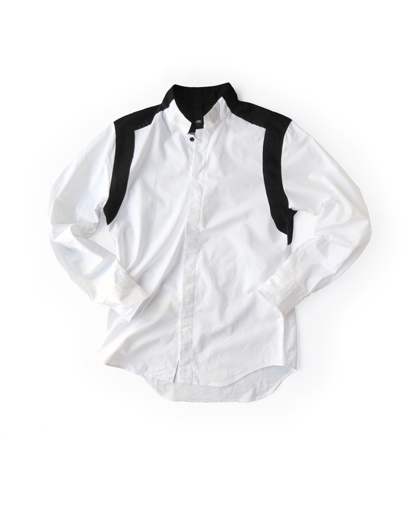 OSA / Shirt  No.01, white&black Image