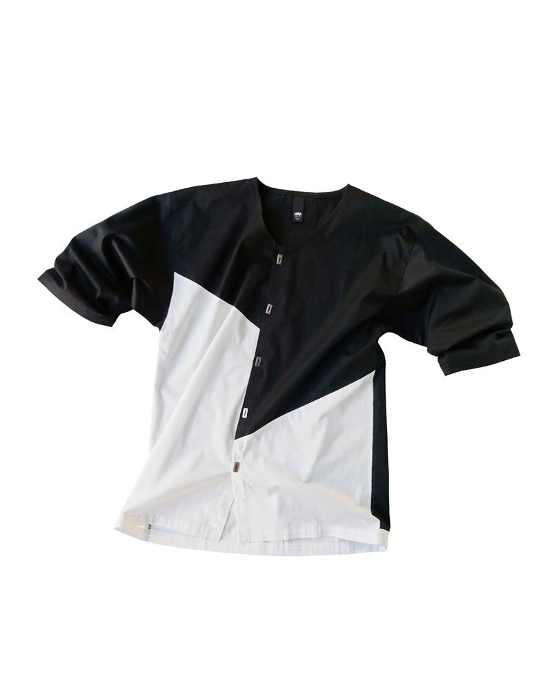 OSA / Babo Shirt  No.01, white&black Image