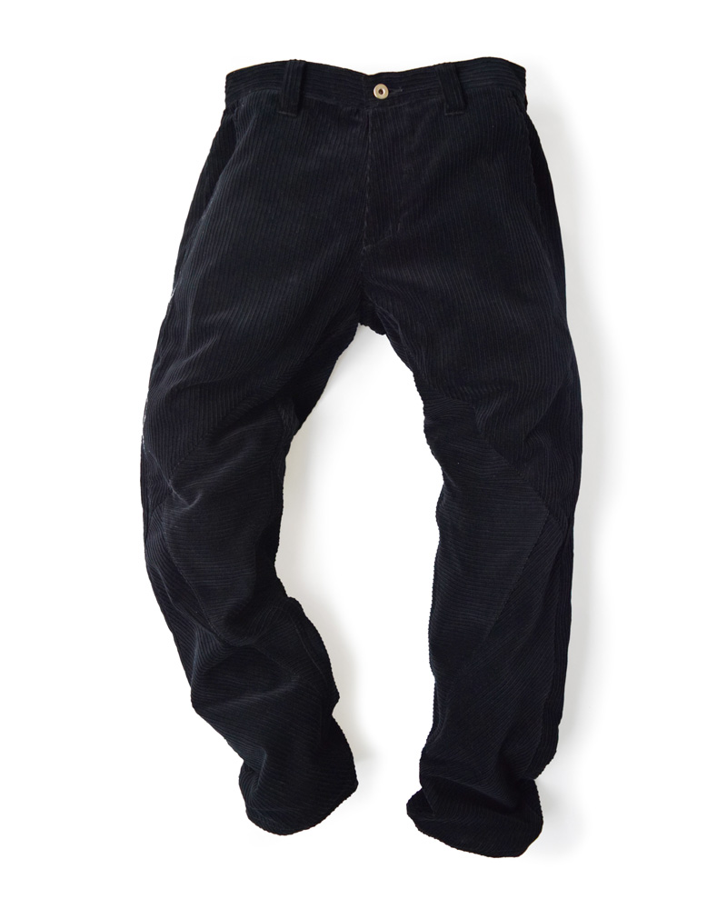 OSA / Pants No.01, black corduroy Image