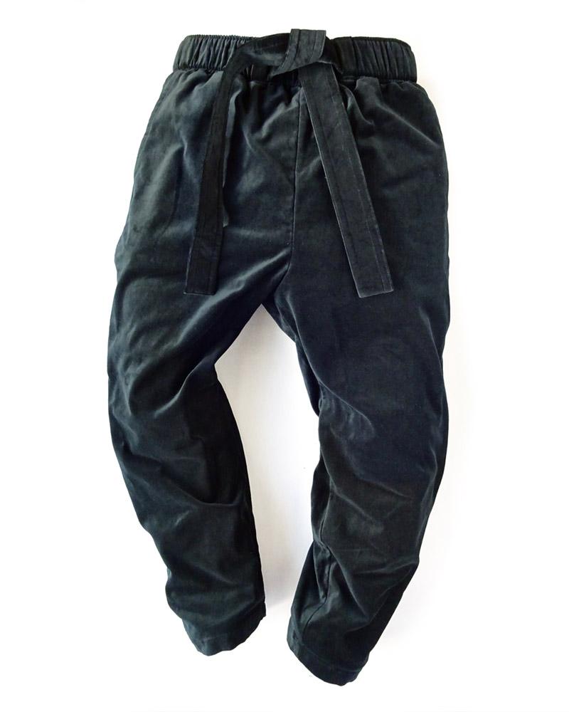 "OSA /  Pants No.03 ""velveteen"" black Image"