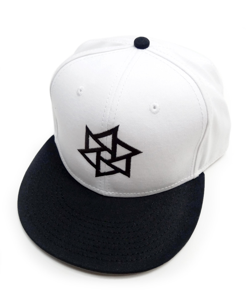 "OSA / Cap No.01 ""Rinne"", white and black Image"