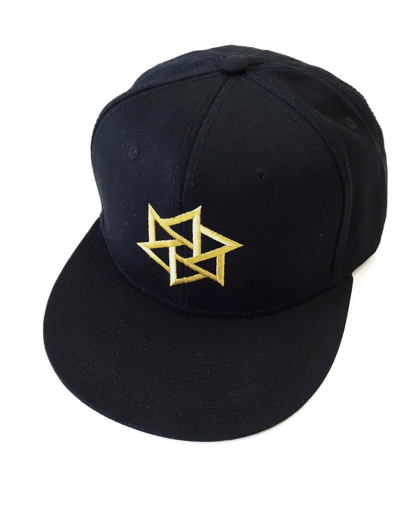 "OSA / Cap No.01 ""Rinne"", black (and gold) Image"