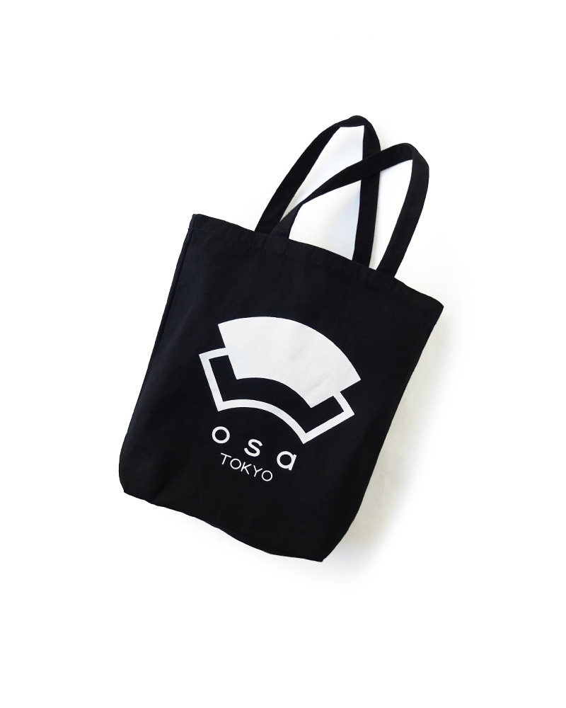 "OSA / Cotton Bag ""OSA"", black Image"